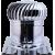 自然通風球_SUS430材質24英吋(五溝底板)